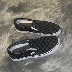Checkered Slip-on Vans